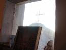 Вид из окна храма